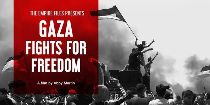 Abby Martin Interview - Gaza Fights For Freedom