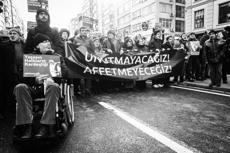 The murder that united people - in the memory ofHrant Dink, Armenian activist