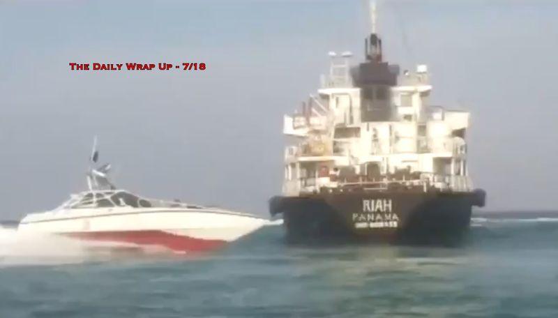 Iran Lied, Admits It Seized 'Fuel-Smuggling Tanker,' US 'Destroys' Iran Drone & Epstein Mossad Ties