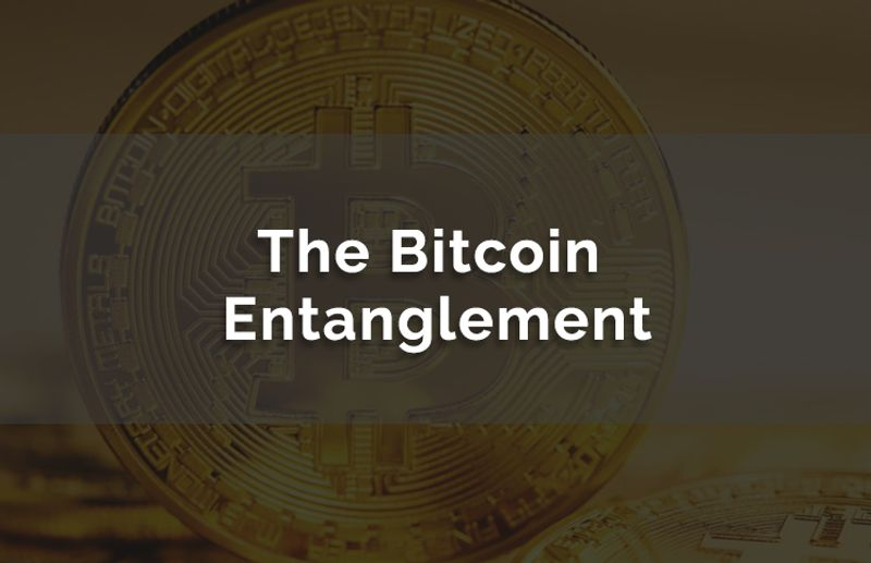 The Bitcoin Entanglement
