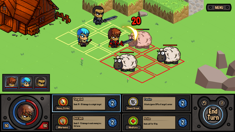 Good Lord, fighting sheep after equipping that lit gear!!?