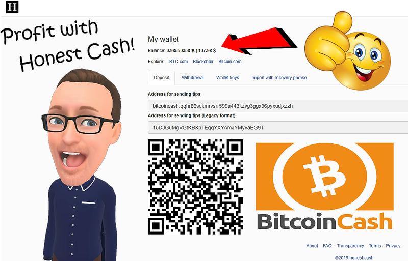 Profit with Honest Cash!