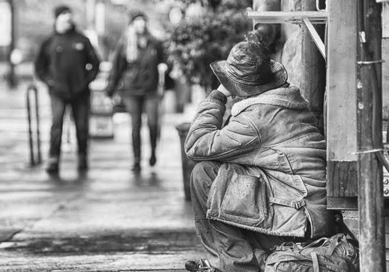 O! Poverty, a sonnet by @oodeyaa