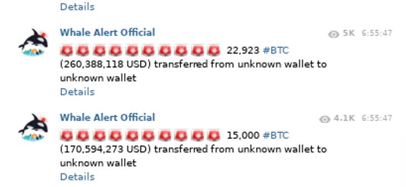 Bitcoin falls below 11K thanks to fearful movements of some whales in BitMex.