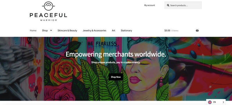 The First Lifestyle Focused Crypto E-commerce Site by WOMEN is now Live!