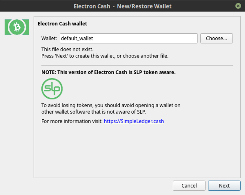 Use a hardware wallet with Electron Cash