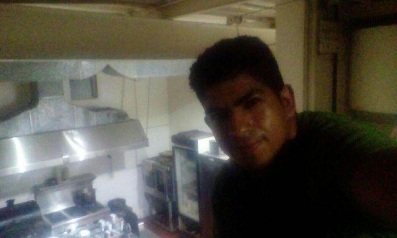 On the kitchen