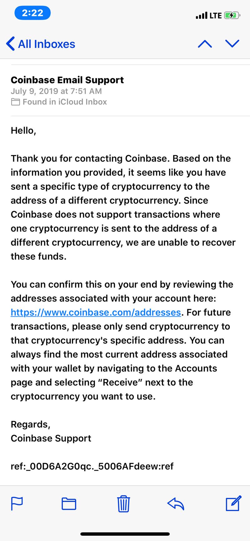 Beware of Coinbase Exchange