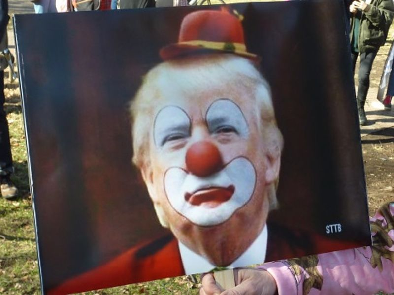 Stop Drinking the Clown's Propaganda Spiked Koolaid...